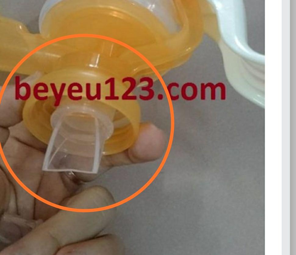 Van chân không Wesser phụ kiện cho máy hút sữa tay Hàn Quốc