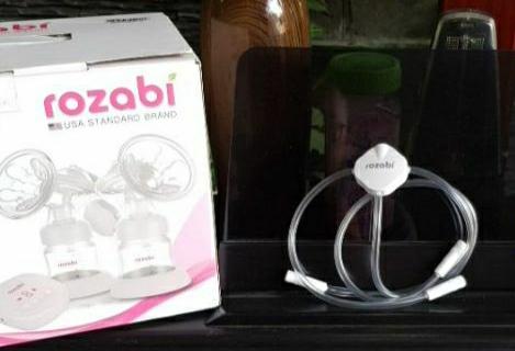 Đầu nối dây ống hút dẫn khí silicone Rozabi Compact - phụ kiện nâng cấp máy hút sữa điện đơn thành đôi