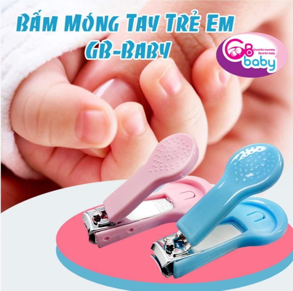 Dụng cụ Bấm móng tay cho bé GB Baby - kèm nắp đậy