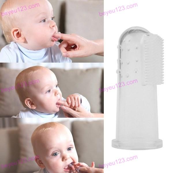 Vỉ 02 chiếc bàn chải đánh răng rơ lưỡi, xỏ ngón silicone mềm Upass UP4002C (Made in Taiwan)