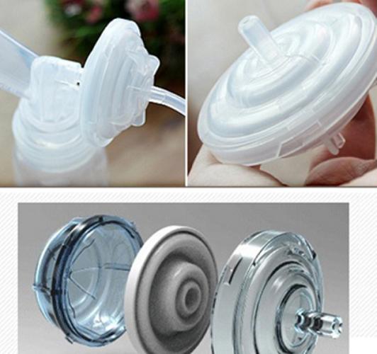 1 Đầu nắp chặn sữa Spectra phụ kiện cho máy hút sữa điện Hàn Quốc