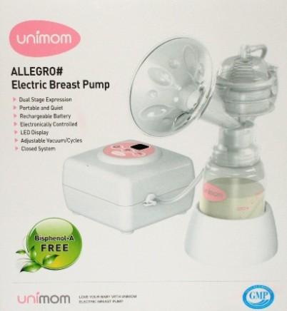 Nắp chụp trên phụ kiện máy hút sữa điện đơn đôi UNIMOM Allegro, Forte Hàn Quốc