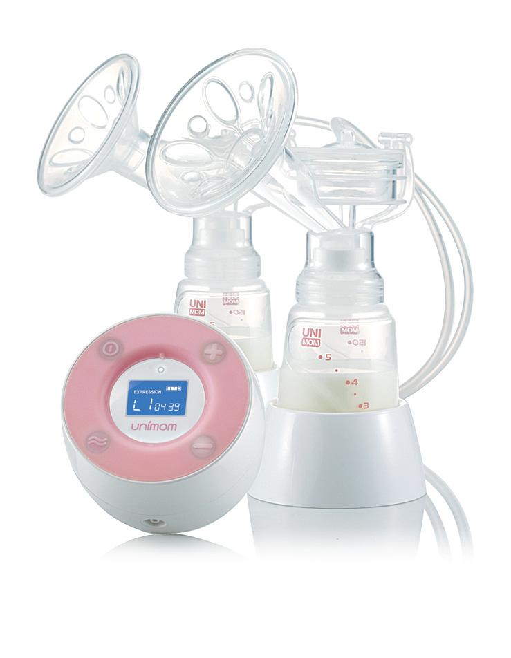Bộ phụ kiện hút sữa Unimom Minuet - thay thế cho máy hút sữa điện đôi Hàn Quốc - SIZE M