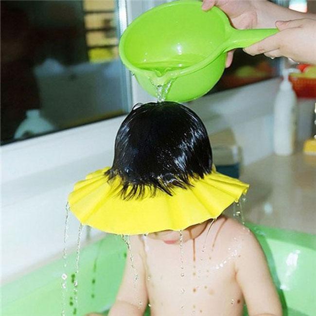 Nón tắm / Mũ chụp gội đầu cho bé - Nhật - KBN 42394