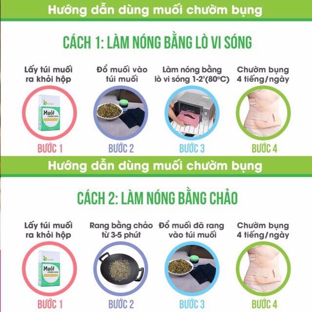 Muối chườm bụng Bảo Nhiên 850gr - giúp Săn bụng – Giảm eo – Mờ rạn cho mẹ sau sinh - Việt Nam