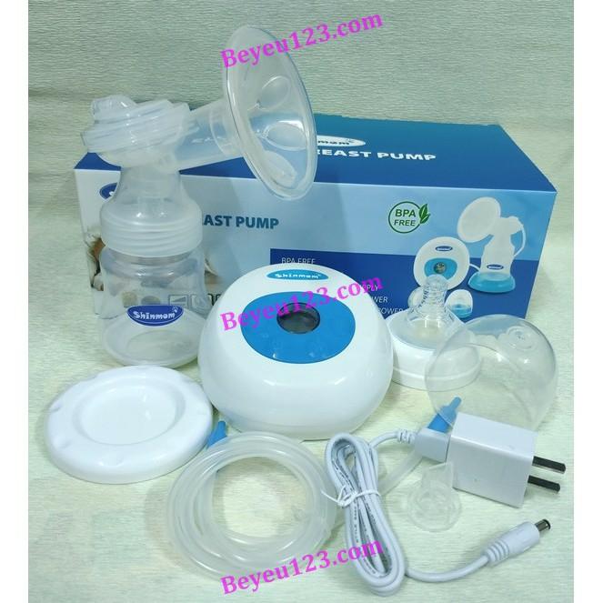 Máy hút sữa điện đơn SHINMOM (sử dụng dây nguồn USB hoặc pin tiểu)
