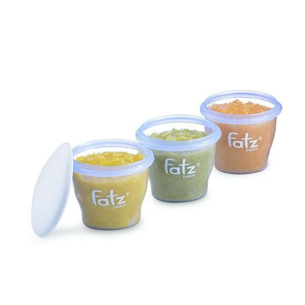 85ml/cốc - Bộ 6 cốc trữ sữa / thức ăn cho bé Fatz Fatzbaby FB0010N - Thái Lan