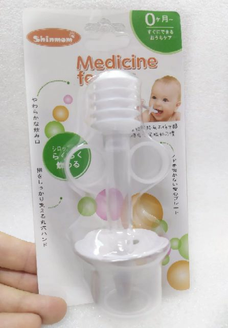 Dụng cụ uống thuốc, uống nước an toàn cho bé Shinmom