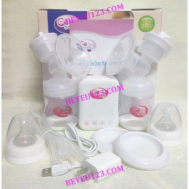 Máy hút sữa ĐIỆN ĐÔI thông minh 6 cấp độ GB BABY (Công nghệ Hàn Quốc)