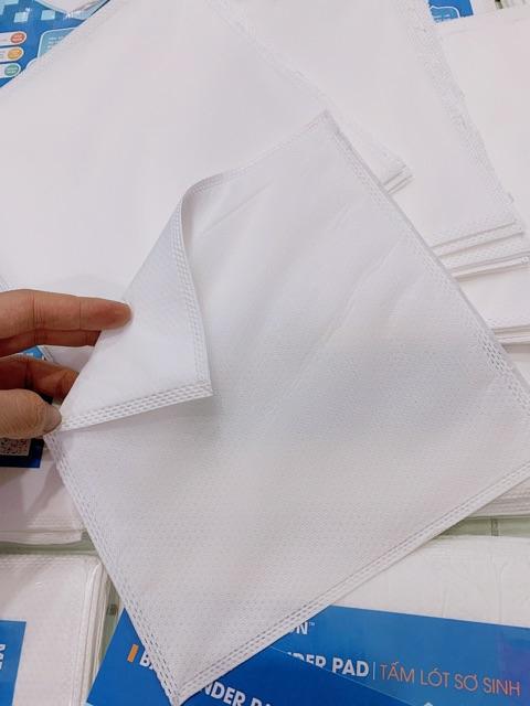 Gói 20 Tấm lót sơ sinh McGoldson chống thấm cho bé - Size S - 20x20cm