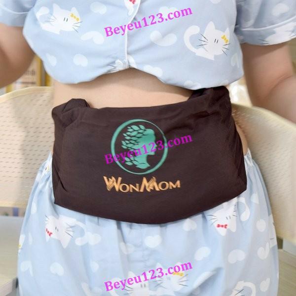Đai vải dùng quấn muối giảm eo cho Mẹ sau sinh Wonmom (Việt Nam)