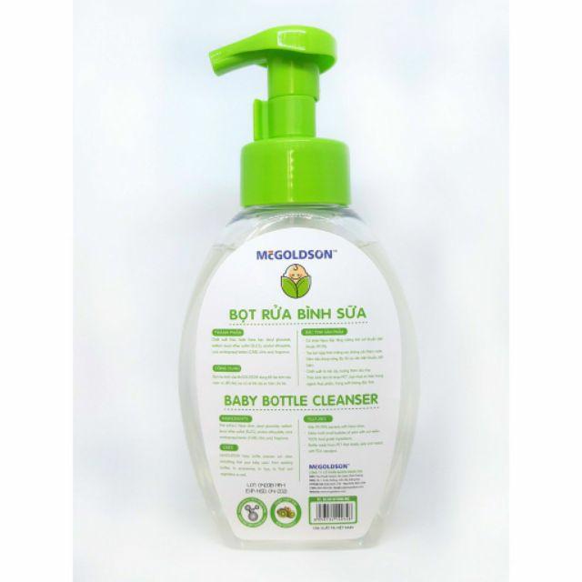 Bọt nước rửa bình sữa Nano Mc GoldSon 500ml - Việt Nam