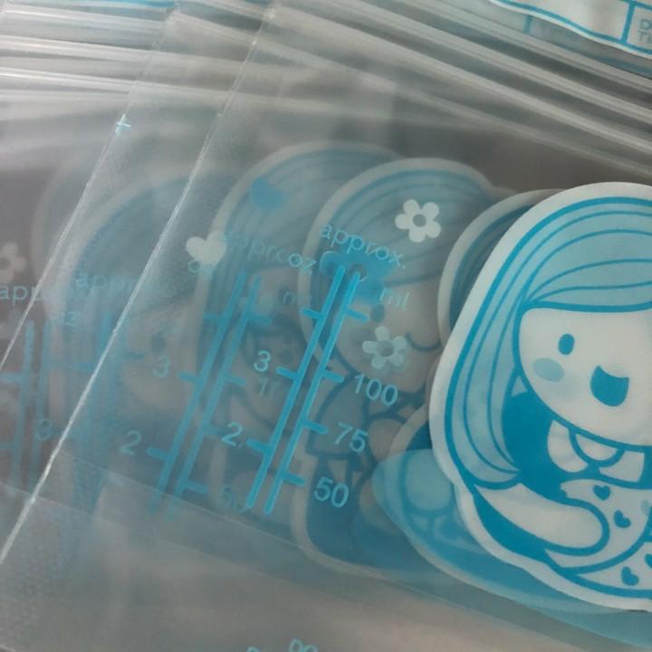 Hộp 30 túi trữ sữa mẹ 100ml không BPA Sunmum Thái Lan