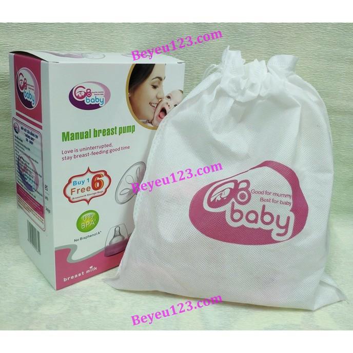 Máy hút sữa mẹ cầm tay GB Baby Hàn Quốc - tặng kèm 6 túi trữ sữa