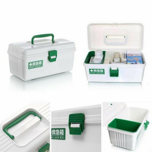 Hộp đựng thuốc và dụng cụ y tế gia đình bằng nhựa cao cấp  - Made in Japan - KBN 485409
