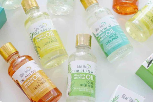 50ml - Tinh dầu Bạc Hà Bé Yêu - dùng xông hơi, chữa đau bụng, đầy hơi,