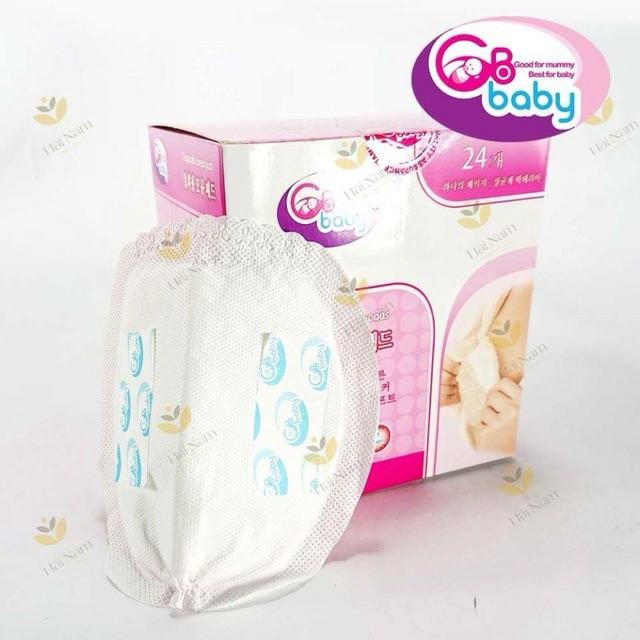 Hộp 24 Miếng lót thấm sữa mẹ dùng 1 lần GB BABY (Hàn Quốc))
