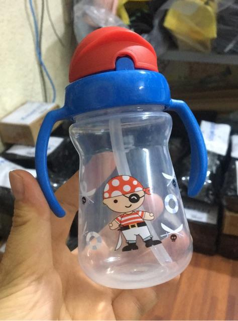 Cốc / Bình nước tập hút có 2 tay cầm 150ml Upass Thái Lan - UP0080N