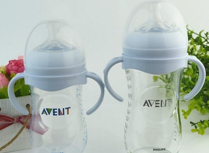 Tay cầm cổ rộng Avent Natural , Dr Brown - phụ kiện cho bình sữa , bình nước