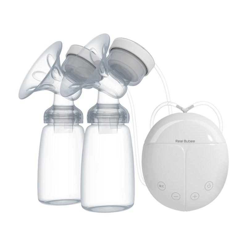 Nắp đậy chụp trên phụ kiện cho máy hút sữa điện đôi  Real Bubee