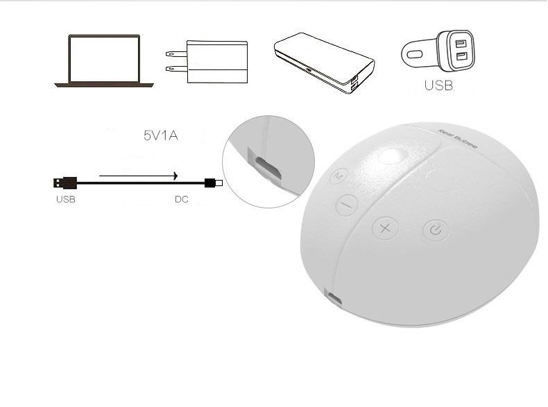 Máy hút sữa điện đôi Real Bubee - dây nguồn USB