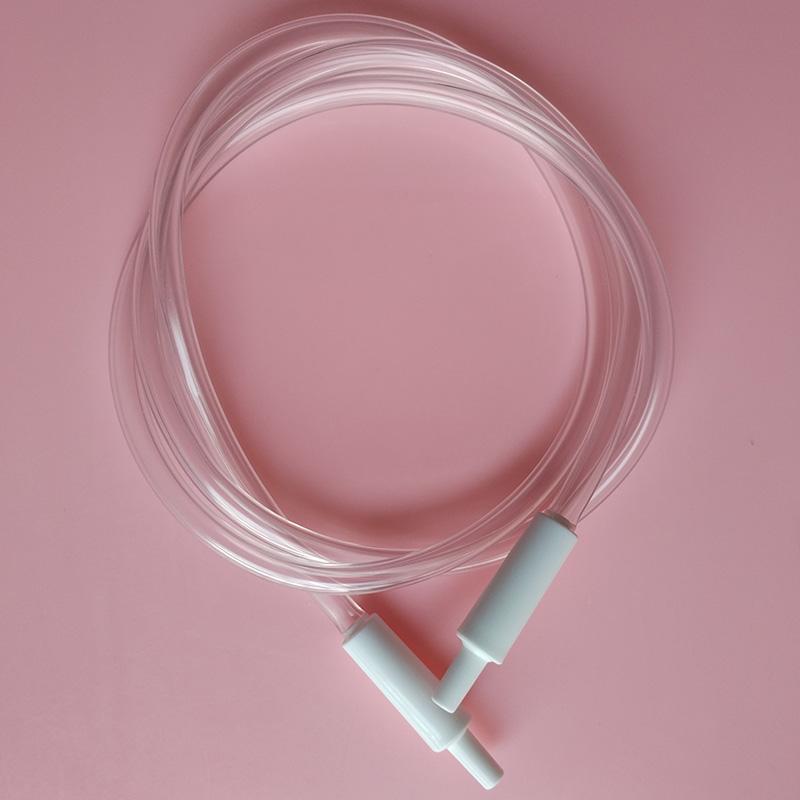 Dây ống hút đẩy khí kèm 2 đầu nối trắng Sanity - phụ kiện cho máy hút sữa điện Sanity Ba Lan