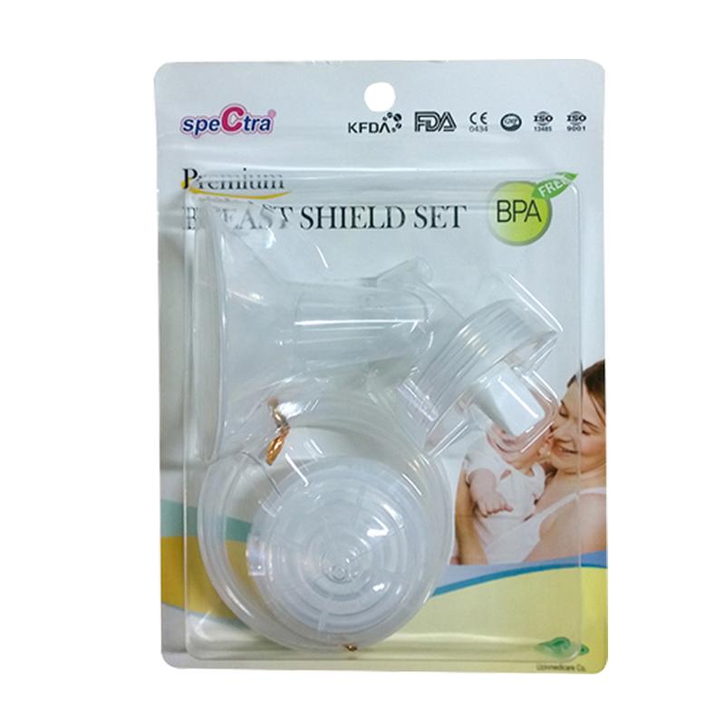 Bộ phụ kiện hút sữa cổ rộng Spectra 24mm kèm phễu matxa silicone