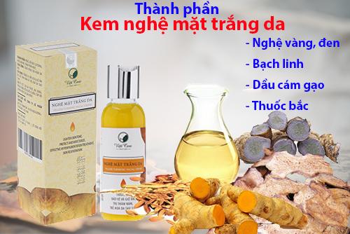 Kem Nghệ mặt dưỡng trắng da VietCare 100gram - Việt nam