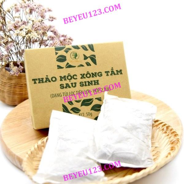 50gr/túi - Hộp 2 túi xông toàn thân thảo dược cho Mẹ sau sinh - WonMom (Việt Nam)