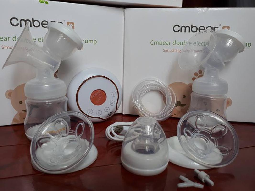 Cuống silicone CMBEAR - phụ kiện thay thế cho máy hút sữa điện đôi