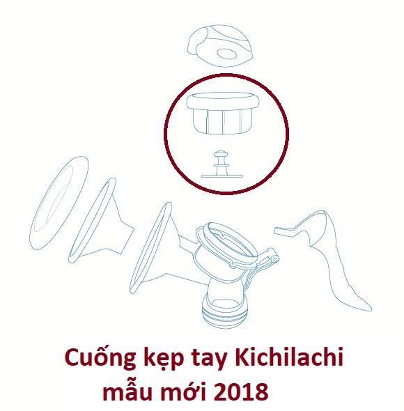 Cuống silicone phụ kiện thay thế dùng máy hút sữa tay Kichilachi -mẫu mới