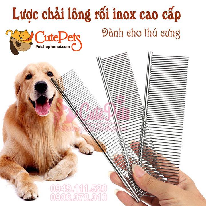Dụng cụ Hỗ trợ chăm sóc chó mèo lược, kéo, kìm bấm móng...