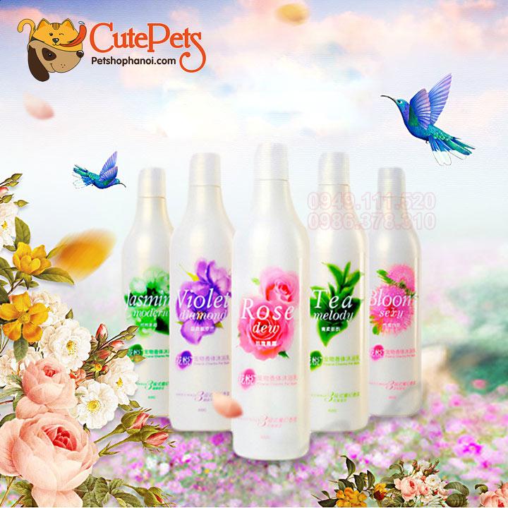 Sữa tắm nước hoa khử mùi cho chó mèo