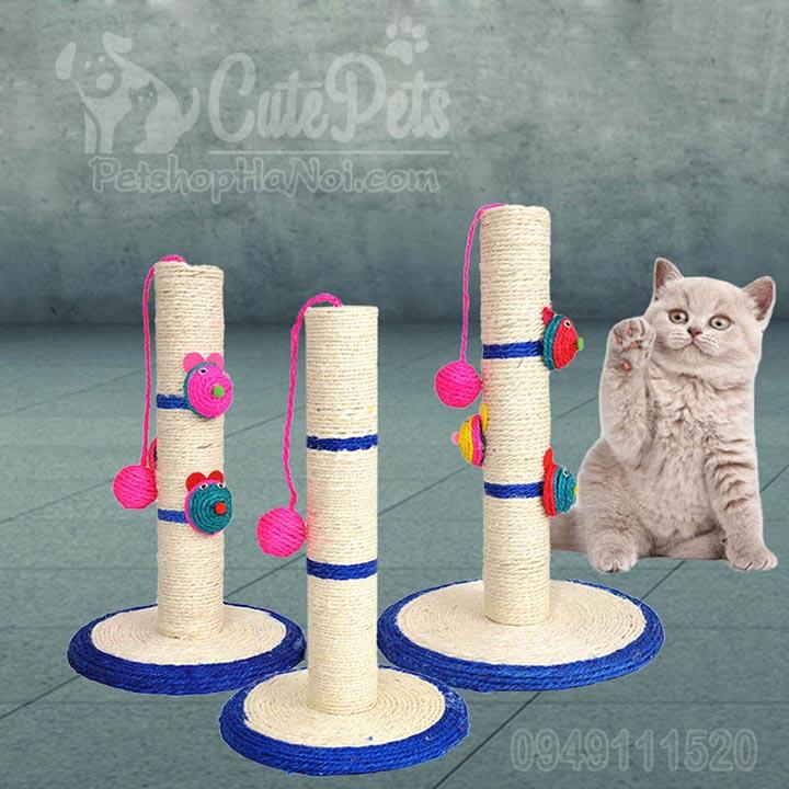 Trụ cào móng Cat tree nhà cây Đồ chơi cho mèo