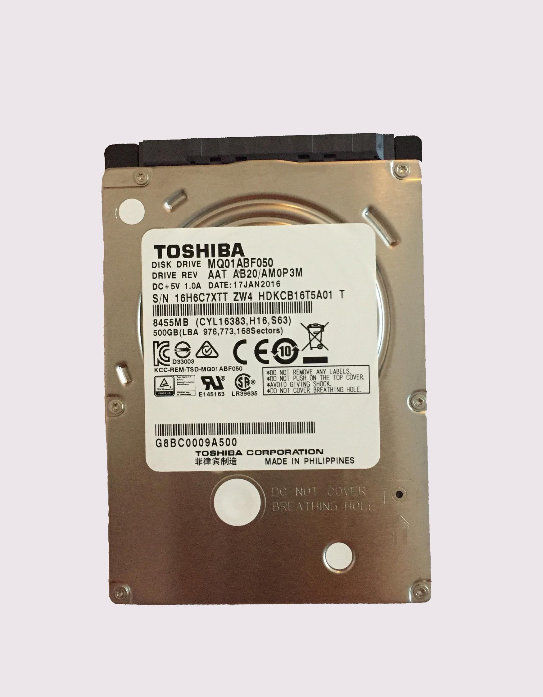 HDD mới - 500GB | Laptop Danh Phong