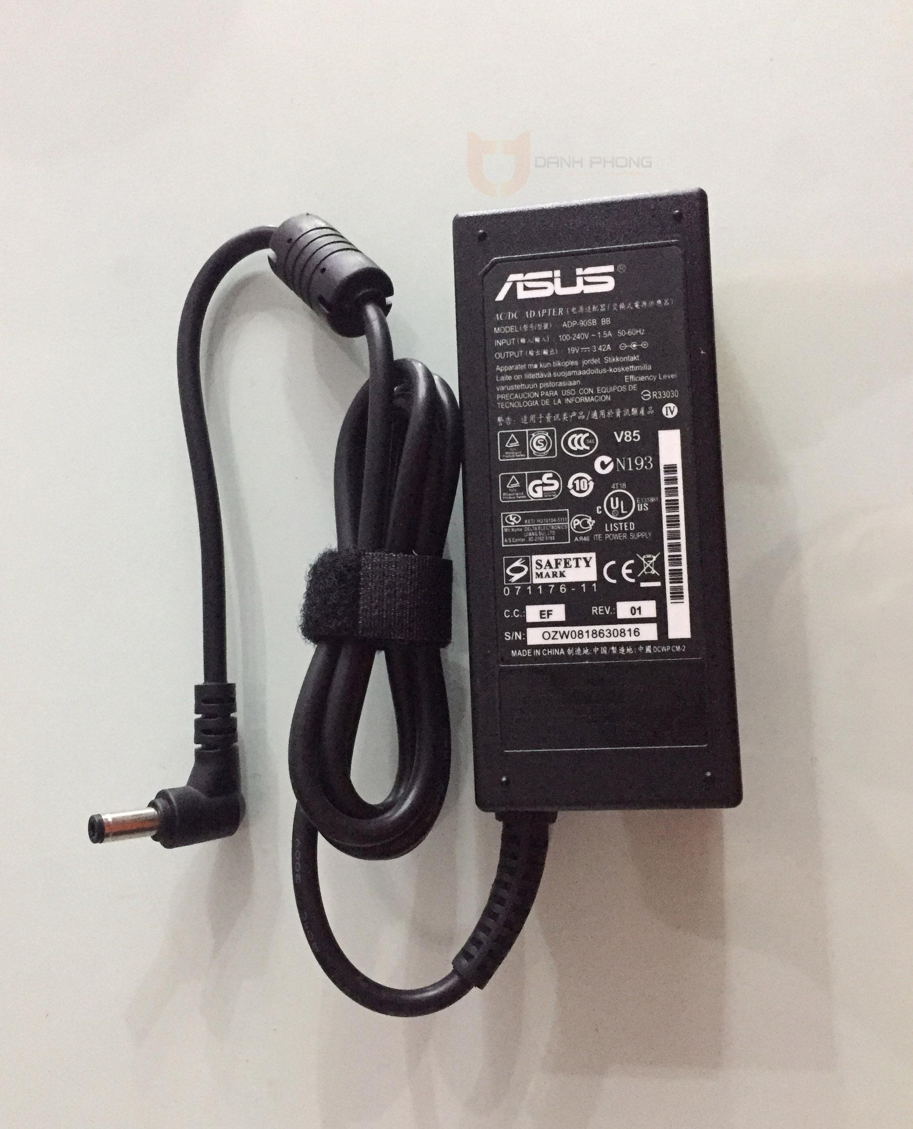 Sạc Laptop Asus 19V - 3.42A | Laptop Danh Phong