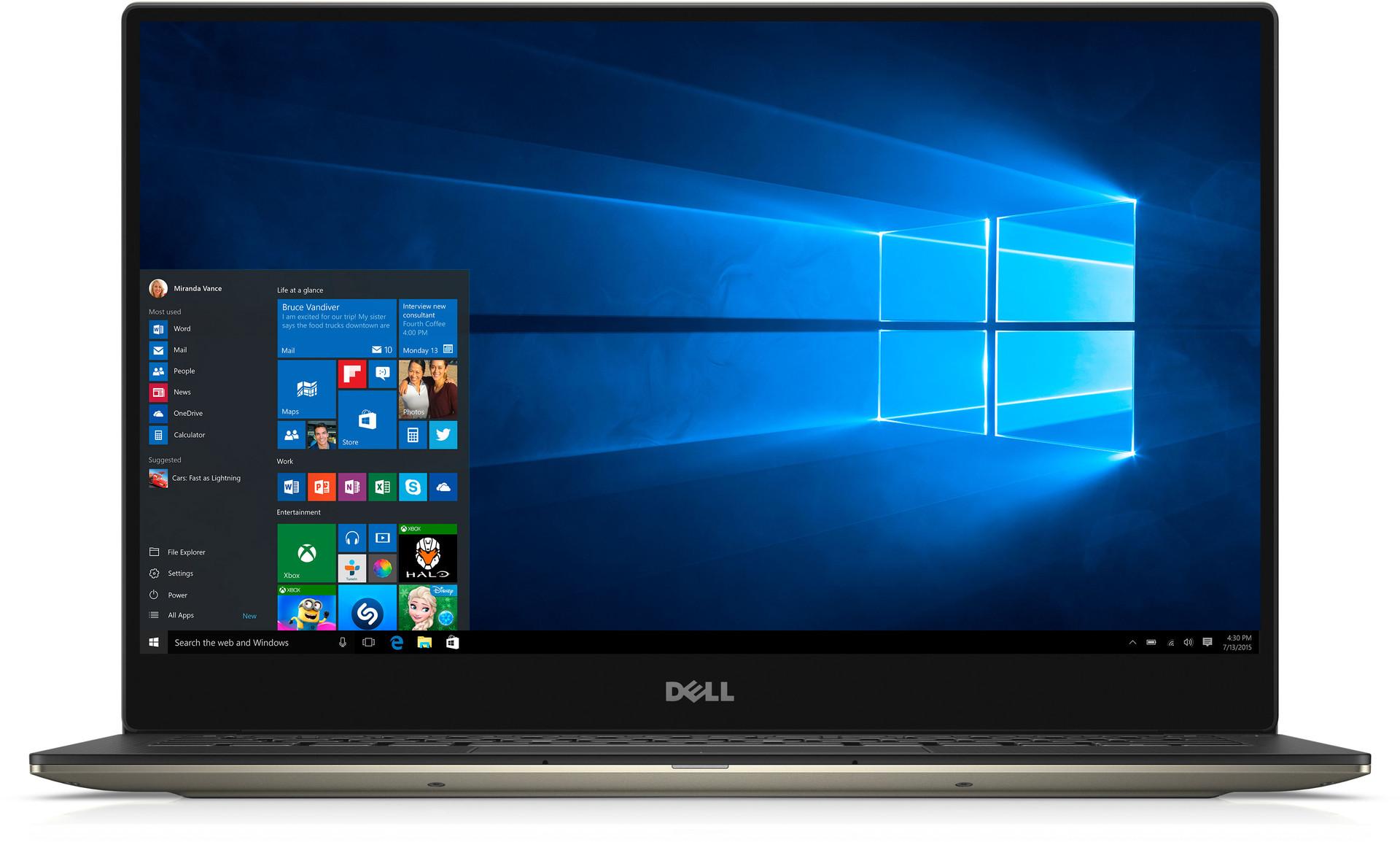 Dell Xps 13-9350 i7 6500U