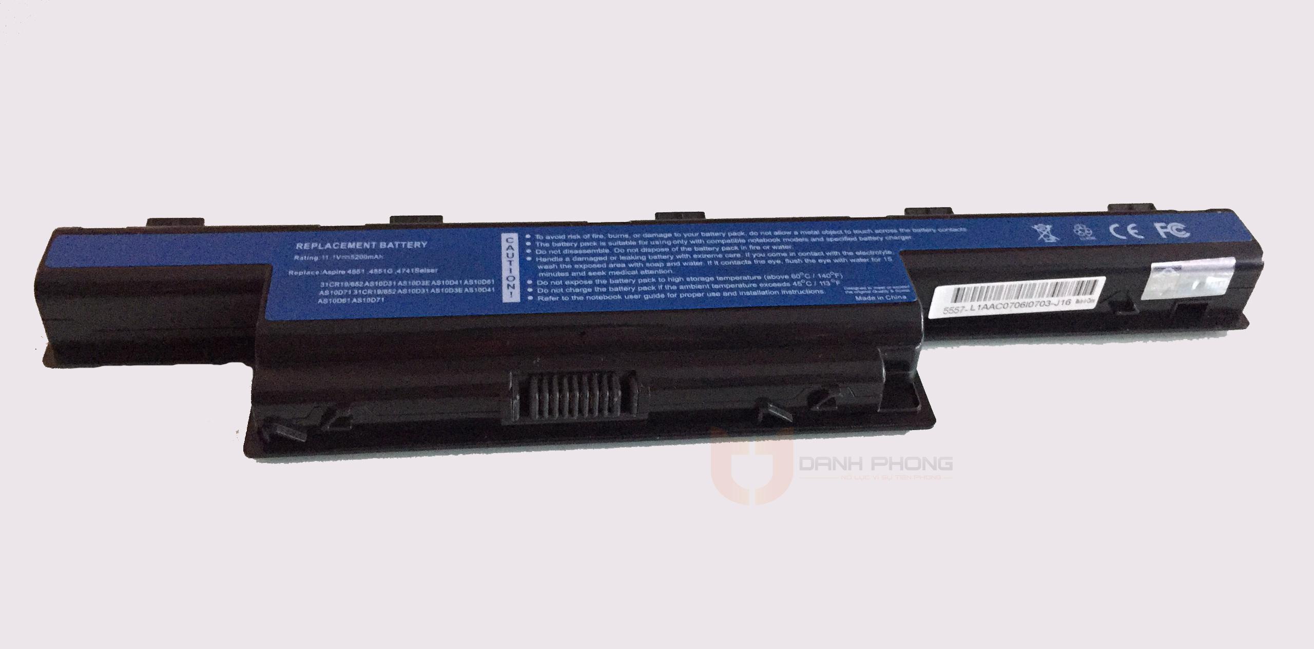Pin laptop Acer 4741 4738 | Laptop Danh Phong