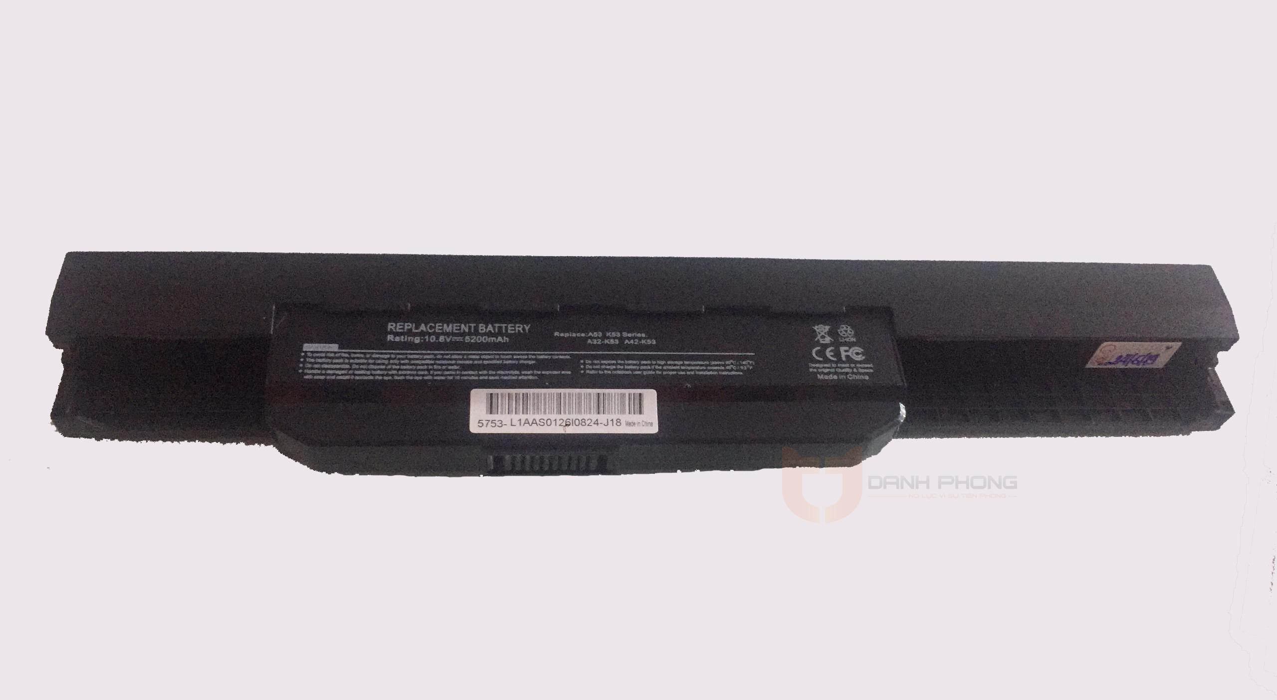 Pin laptop Asus k43 k53 | Laptop Danh Phong