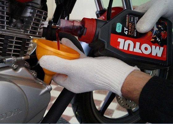 dầu xe máy