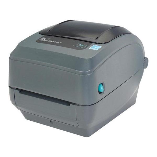 Máy in mã vạch zebra GX430T 300Dpi