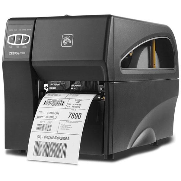Máy in mã vạch Zebra ZT220 203Dpi