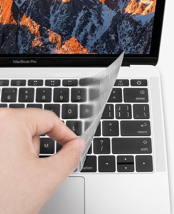 Phủ Phím JCPAL FITSKIN TPU ( Touch Bar) - Macbook Pro 13