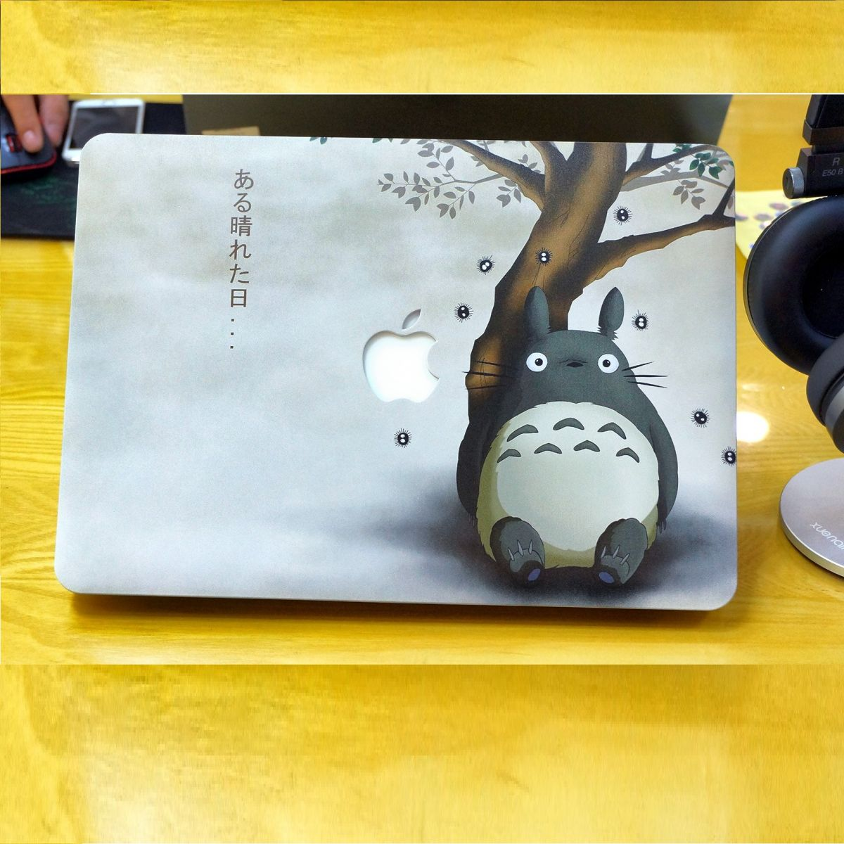 Ốp Macbook hình Totoro- C014 - Macbook Air 13