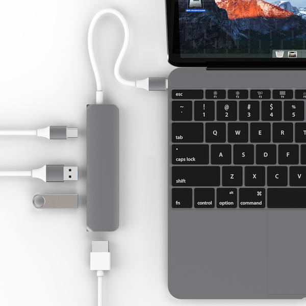 Cáp HyperDrive USB Type-C Hub with 4K HDMI