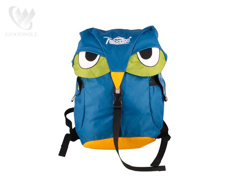 Balo du lịch chống thấm nước Owl blue - DL17