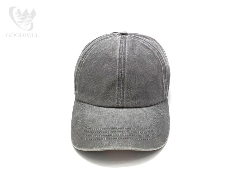 Mũ lưỡi trai màu xám trơn - HATG24