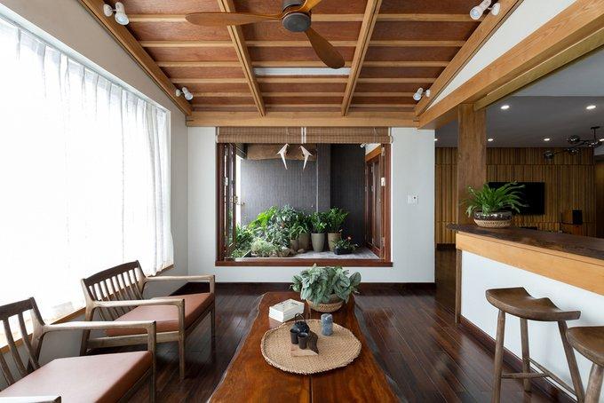 Căn chung cư ở Hà Nội giống nhà vườn kiểu Nhật