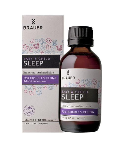 Siro hỗ trợ giấc ngủ cho bé Brauer - Brauer Baby & Child Sleep (100ml)  ngủ ngon