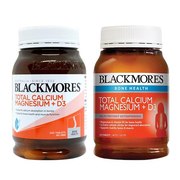 Blackmores Total Calcium & Magnesium + D3 200 viên - bổ sung canxi